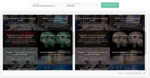 Colorblind Web Page Filter: screenshot da ferramenta