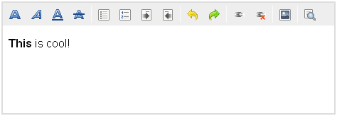 Melhores editores WYSIWYG: MooEditable