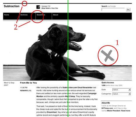 Elemento de design aplicado à web: equilíbrio