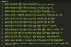 CSS morto: exemplo de CSS ruim que poderia ser identificado