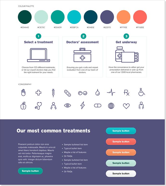 Exploração de design visual: Colagens de elementos (Element collages)